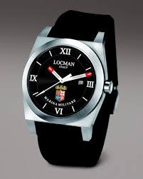 locman marina militare watch in black for men lyst gallery