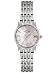 amazon co uk rotary watches outlet watches rotary women s quartz watch mother of pearl dial analogue display and silver stainless steel bracelet