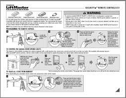 clicker garage door keypad instructionsGarage Doors  40 Amazing How To Program A Liftmaster Garage Door