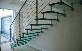 glass staircase railing glass stairs floating glass treads staircase glass railing for stairs glass stair