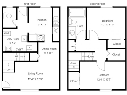 Townhouse Floor Plans 2 Bedroom Photos And Video 4 Bedroom Townhouse Floor Plans