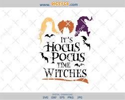 Silhouette studio, cricut design space and i smell children svg, halloween svg, witch svg, hocus pocus svg, spooky svg, kids halloween svg, silhouette cricut files, svg, dxf, eps, png. It S Hocus Pocus Time Witches Svg Broomstick Svg Sanderson Sisters Witches Svg Hocus Pocus Svg Halloween Svg Design Halloween Files Halloween Cut Files Svg Png Picsyco