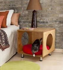 bed end table. End Table Dog Bed D