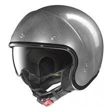 helm nolan n21 durango scratched chrome
