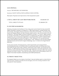 How To Write A Business Loan Proposal Letter Cover Letter Templates