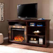 62 gatlinburg espresso bookshelf electric fireplace