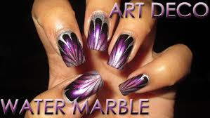 Fan Choice Friday | Art Deco Inspired | Water Marble March 2016 #7 ...