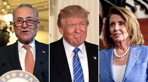 Image result for Trump/schumer