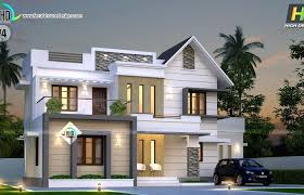 home plan kerala low budget unique unusual design contemporary plans with estimate courtyard india kerala