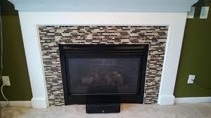coolest backsplash tile around fireplace 30 remodel with backsplash tile around fireplace