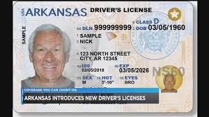 Reveals Dates Arkansas Driver's License Ids New Rollout