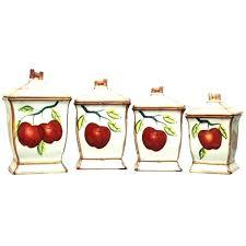ceramic food storage containers ceramic food storage lovely apple kitchen decor apple kitchen decor ceramic canister