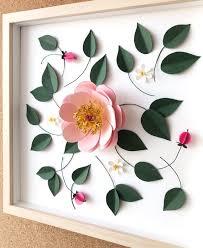3d flower art paper flower art design a