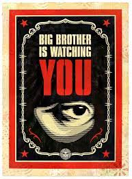 Shepard Fairey, Big Brother Is Watching ...