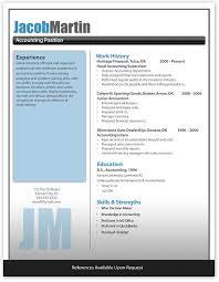 Free Modern Resume Template Word Modern Resume Template Word 16517 Ifest Info