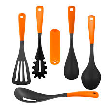 colorful kitchen utensils. Full Size Of Fashionable Orange Plastic Kitchen Utensils Shaft Nylon Slotted Turner Basting Spoon Colorful R