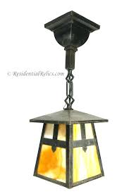 craftsman pendant light mission lights style mini