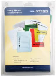 Jeppesen Chart Protectors Airway Manual Accessory Pack By Jeppesen