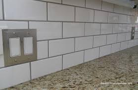 elegant white subway tiles white subway tile backsplash the contractor chronicles