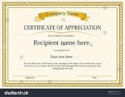 Award Certificate Award Certificate Frame Template Design Vector Stock Vector HD 9