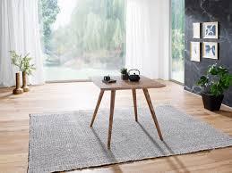 Esszimmertisch Repa 80 X 80 X 76 Cm Sheesham Rustikal Massiv Holz Design Landhaus Esstisch Tisch Für Esszimmer Quadratisch 4 Personen