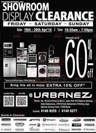 Warehouse Kitchen Appliances 18 20 Apr 2014 Urbanez Malaysia Showroom Display Clearance Sale