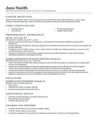 How To Write Objectives For Resume Cv Template Objective Resume Objective Examples