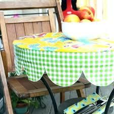 elasticised vinyl tablecloth n2338 round
