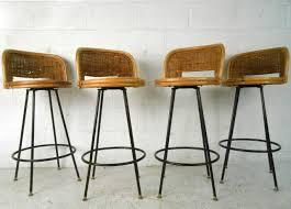 furniture cozy mid century swivel bar stools and mid century modern bar stools32