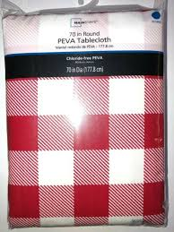 tablecloth vinyl flannel backing