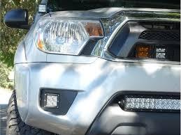 Amber Led Fog Lights Tacoma 2012 2015 Toyota Tacoma Led Fog Light Pod Replacements Combo