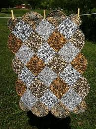 animal print quilts   leopard quilt - number 2: I'd like to make a ... & Animal Print Baby Quilt. $25.00, via Etsy. Adamdwight.com