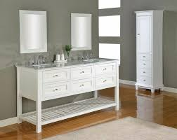 Perfect White Bathroom Vanities Ideas Soft Finish Home Design On Simple