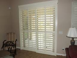 curtains shutters for sliding glass doors