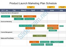 Marketing Plan Ppt Example Product Launch Marketing Plan Schedule Example Of Ppt Presentation