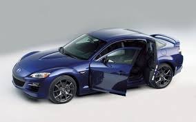 Mazda Rx8 Blue High Angle Doors Open Wallpaper 1280×800 - Mazda ...