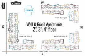 apartment floor plan design. Wall \u0026 Grand Apartments 2nd, 3rd, 4th Floor Plan Apartment Design