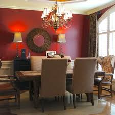 red dining room color ideas. Bright Design Red Dining Room Wall Decor Stylish Bathroom With Natural Concept Comfortable On Home Ideas Color
