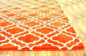 agreeable grey and orange rug for burnt orange rugs burnt orange rug area rugs at kids