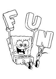 Small Picture Spongebob Colotring Pages
