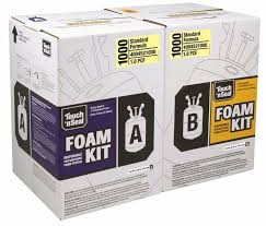 touch n seal 1000 spray foam insulation kit open cell fr 4004521000 diy