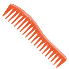 DEWAL <b>BEAUTY Гребень волна</b> оранжевый <b>18 см</b> купить в ...
