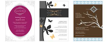 Invitations Card Maker Create Free Wedding Invitations Designmantic The Design Shop