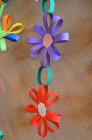Easy Paper Flower Easy Paper Flower Garland Diy Teaching Ideas Pinterest Crafts