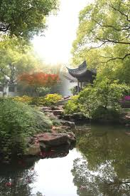 Expect to see pagodas or pavilions in most Chinese gardens
