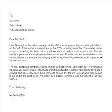 Retirement Letter Retirement Letters To Employer Tirevi Fontanacountryinn Com