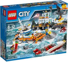 Đồ chơi lắp ráp LEGO City 60167 - Sở Chỉ Huy bảo vệ Bờ Biển (LEGO City  Coast Guard Head Quarters) giá rẻ tại cửa hàng LegoHouse.vn LEGO Việt Nam