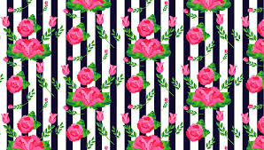 Rose Pattern Delectable How To Create A Stripes And Flowers Pattern From Scratch In Adobe