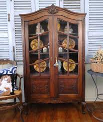 english antique display cabinet. Armoires Bookcases French And English Antiques Antique Country Armoire Bookcase Carved Tiger Oak Display Cabinet Vitrine Petite Black Door Tall Wardrobe