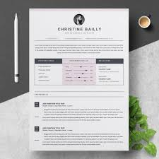 Christine Bailly Resume Template